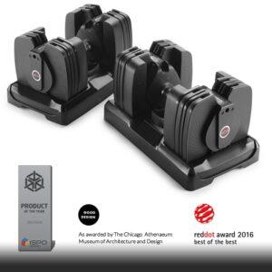 Keičiamo svorio hanteliai Bowflex SelectTech 560i