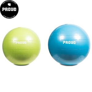 TRAINING BALL PROUD : Kolor - Zielony, Pozostałe - 55cm