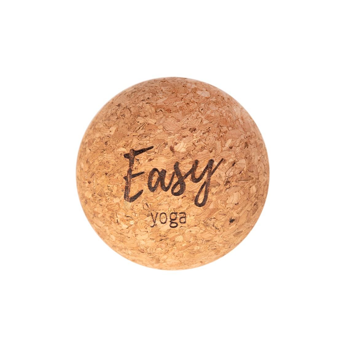 CORK MASSAGE BALL : Średnica - 6,5cm