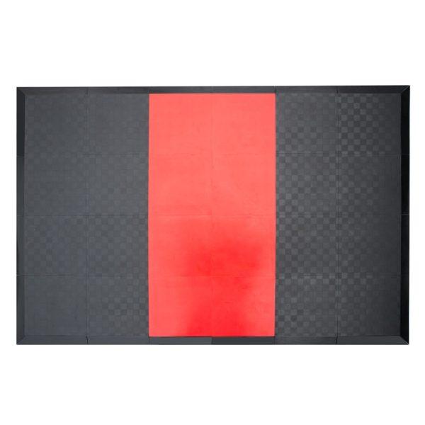 WEIGHTLIFTING PLATFORM PRO PROUD : Kolor - Czerwony - rozmiar L
