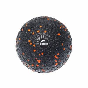 PIŁKA DO MASAŻU PROUD EPP BALL : Kolor - Czarno - pomarańczowy