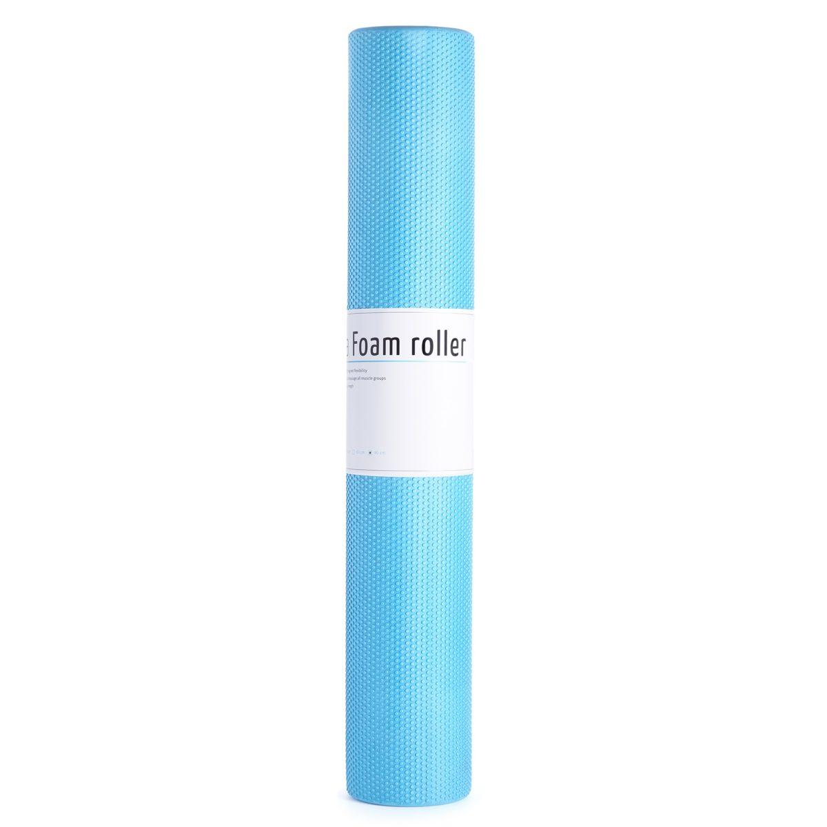 MASSAGE ROLLER EASY FITNESS 90CM EASY FITNESS : Kolor - Niebieski, Twardość - Średni