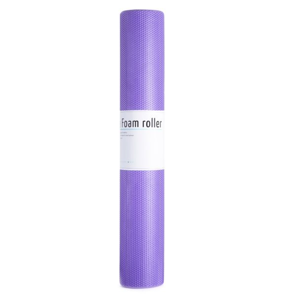 MASSAGE ROLLER EASY FITNESS 90CM EASY FITNESS : Kolor - Fioletowy, Twardość - Średni