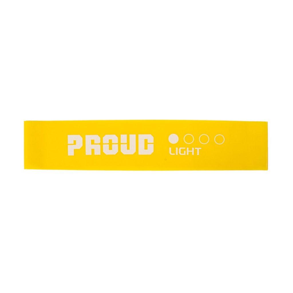 MINI BAND PERFORMANCE PROUD : Kolor - Żółty, Pozostałe - 0,4mm