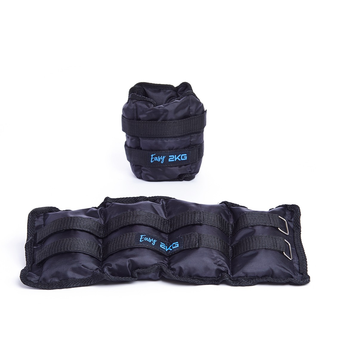 ANKLE AND WRIST WEIGHTS EASY FITNESS : Waga - 2kg - kpl.