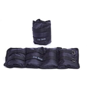ANKLE AND WRIST WEIGHTS EASY FITNESS : Waga - 3kg - kpl.