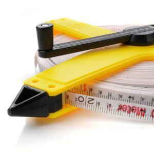 Measuring tape with handle Meteor 100m 38303