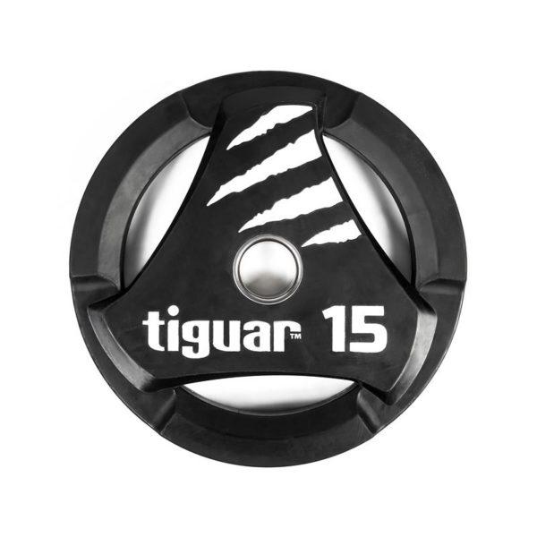 Olympic plate tiguar PU 15 kg TI-WTPU01500