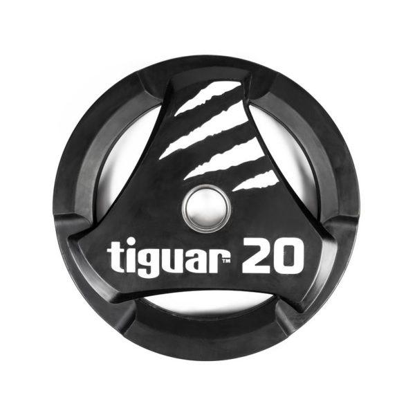 Olympic plate tiguar PU 20 kg TI-WTPU02000