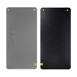 Club fitness mat with holes HMS Premium MFK02 Gray-Black