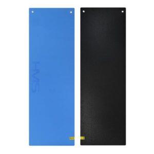 Club fitness mat with holes HMS Premium MFK03 blue-black
