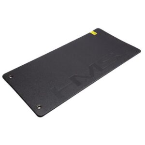 Fitness mat with holes HMS Premiom Gray-Black MFK04