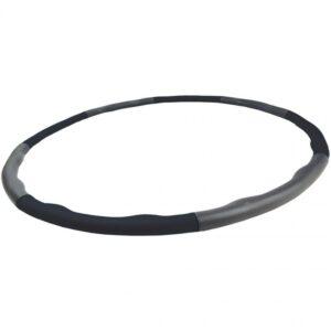 Hula hoop with massage 95 cm EB FIT black-gray 1028583