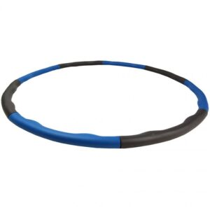 Hula hoop with massage 95 cm EB FIT blue-gray 1017150