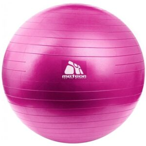 Meteor gym ball 55 cm with pump pink 31132