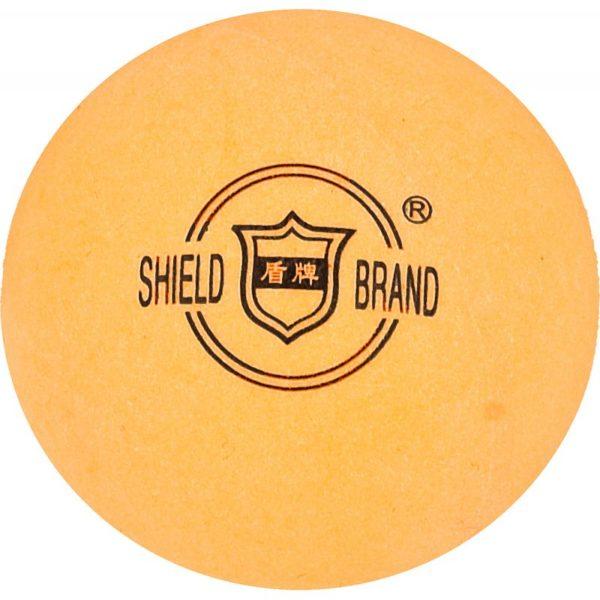 Shield table tennis balls 6 pcs. Orange
