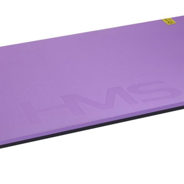 Club fitness mat with holes HMS Premium MFK01 Violet Black