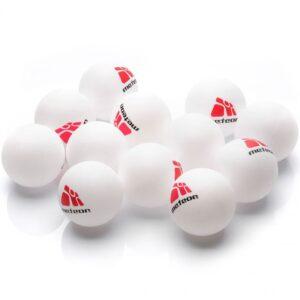 A set of 12 ping pong balls Meteor 15026