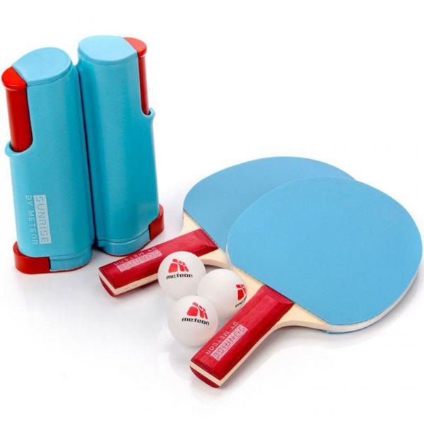 Meteor Sunrise Rollnet 15043 table tennis set