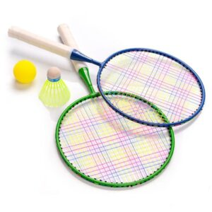 Badminton set Meteor Junior 2 rackets + shuttlecock + ball