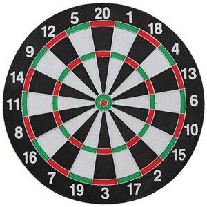 Sisal dart board 30 cm + 6 darts EB030231 / BT171525