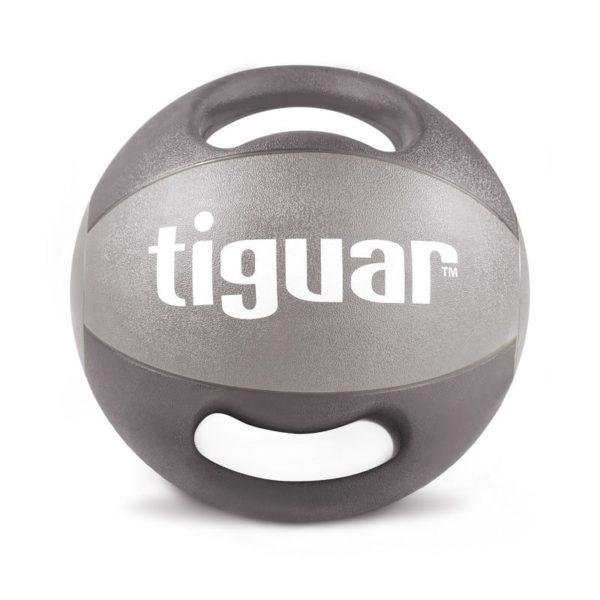 Medicine ball with tiguar handles 8 kg TI-PLU008