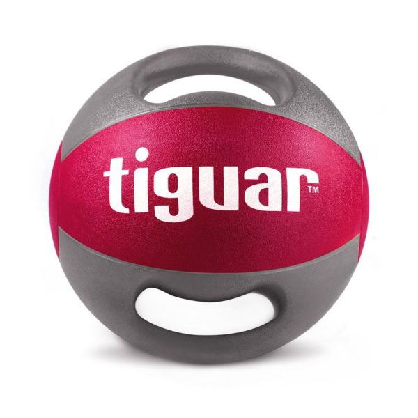 Medicine ball with tiguar handles 9 kg TI-PLU009