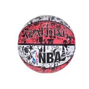 Spalding NBA Grafitti Rubber Ball 83574Z