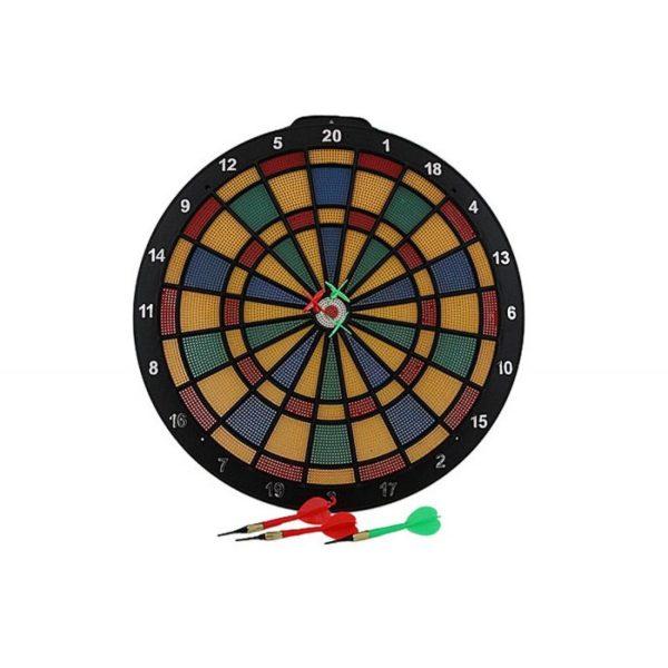 Plastic Dart board 40 cm + 6 darts BT26903 / EBO01316