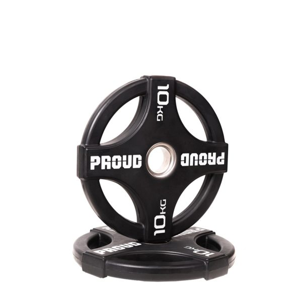 RUBBER WEIGHT PLATE 2.0 PROUD : Waga - 10kg