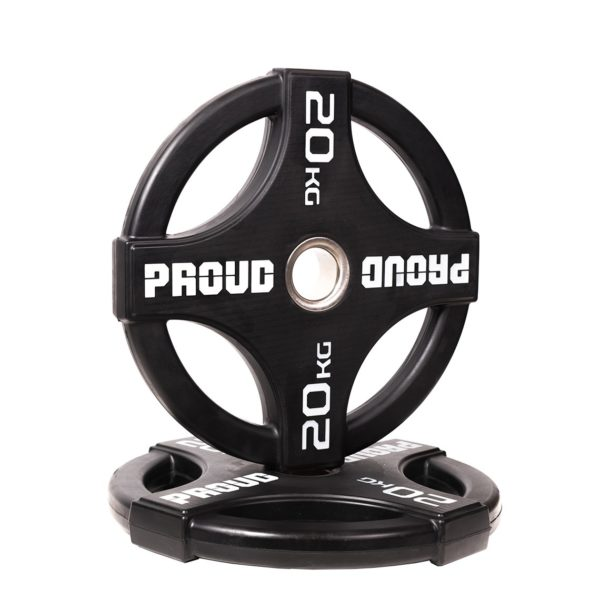 RUBBER WEIGHT PLATE 2.0 PROUD : Waga - 20kg