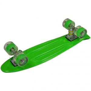 "Plastic Skateboard 22 ""Led Enero 1009490"