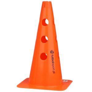 Orange cone with holes 37.5 cm