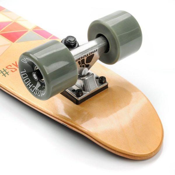 Meteor Summer Triangles 24288 skateboard