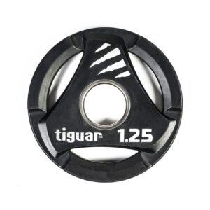 Olympic plate tiguar PU 1.25 kg TI-WTPU00125