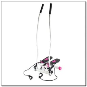 Stepper with movable arms and HMS S3085 links pink-white
