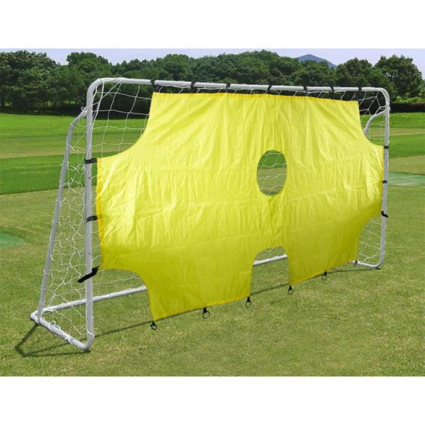 Enero football goal with a net and a shading shield 290x165x90cm 1006291